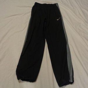 Nike Dri-Fit Mens Small Black and Grey Sweatpants